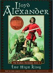 Cover of: The High King (Lloyd Alexander's Prydain Chronicles)