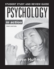 Cover of: Student Study And Review Guide To Accompany Psychology In Action 10e