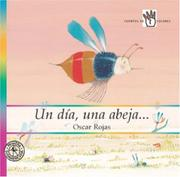 Cover of: Un día una abeja