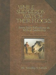 Cover of: While Shepherds Watch Their Flocks