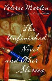 Cover of: The unfinished novel