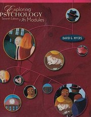 Cover of: Exploring Psychology in Modules 7e Paper  Study Guide