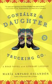 Cover of: González and Daughter Trucking Co