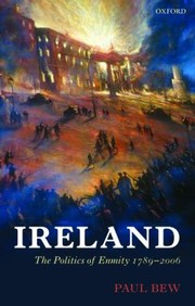 Cover of: Ireland The Politics Of Enmity 17892006