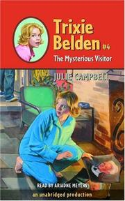 Cover of: The mysterious visitor (Trixie Belden 4)