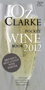 Cover of: Pocket Wine Book 2012