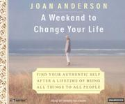 Cover of: A Weekend to Change Your Life