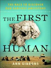 Cover of: The First Human
