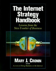 Cover of: The Internet Strategy Handbook Lessons From The New Frontier Of Business