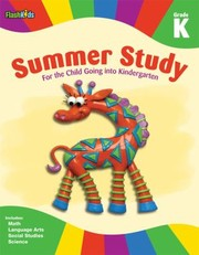 Cover of: Summer Study Grade K