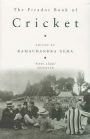 Cover of: The Picador Book Of Cricket