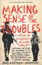 Cover of: Making Sense Of The Troubles