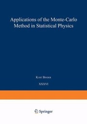 Cover of: Applications Of The Monte Carlo Method In Statistical Physics