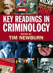 Cover of: Key Readings In Criminology