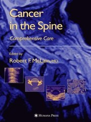 Cover of: Cancer in the Spine