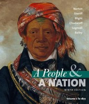 Cover of: A People A Nation A History Of The United States