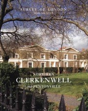 Cover of: Northern Clerkenwell And Pentonville