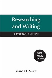 Cover of: Researching And Writing A Portable Guide
