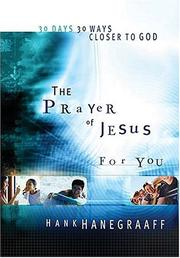 Cover of: The Prayer Of Jesus For You