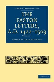 Cover of: The Paston Letters Ad 14221509 Vol 2