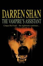 Cover of: The Vampire's Assistant
