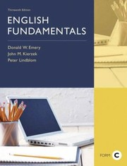 Cover of: English Fundamentals Form C