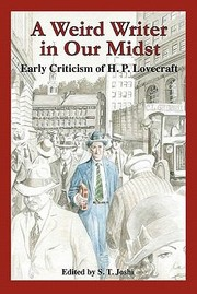 Cover of: A Weird Writer In Our Midst Early Criticism Of Hp Lovecraft