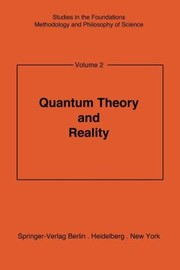 Cover of: Quantum Theory And Reality