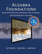 Cover of: Mymathlab For Algebra Foundations Mymathguide Access Card Basic Math Intro And Inter Algebra
