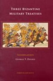 Cover of: Three Byzantine Military Treatises