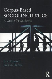 Cover of: Corpusbased Sociolinguistics A Guide For Students