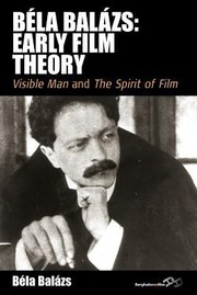 Cover of: Bela Balazs Early Film Theory