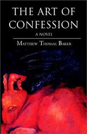 Cover of: The Art of Confession