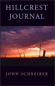 Cover of: Hillcrest Journal