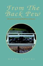 Cover of: From the Back Pew
