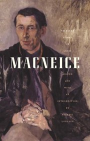 Cover of: Selected Poems Of Louis Macneice