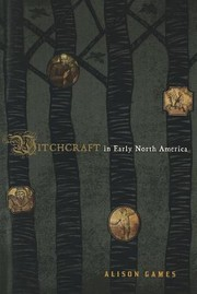 Cover of: Witchcraft In Early North America