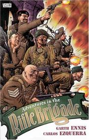 Cover of: Adventures in the Rifle Brigade | Garth Ennis