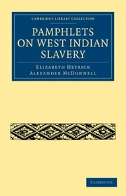 Cover of: Pamphlets On West Indian Slavery
