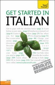 Cover of: Get Started In Italian