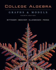 Cover of: College Algebra Graphs Models