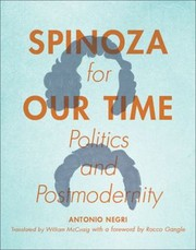 Cover of: Spinoza For Our Time Politics And Postmodernity