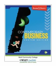 Cover of: Contemporary Business 13th Edition with Audio Chapters CD  Chapter  Cont Case Videos DVD