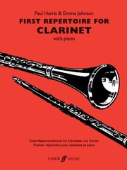 Cover of: First Repertoire For Clarinet With Piano