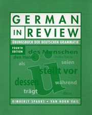 Cover of: German in Review Classroom Manual