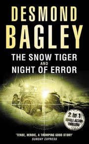 Cover of: The Snow Tiger Night Of Error