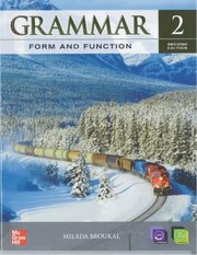 Cover of: Grammar Form and Function Level 2 Student Book with EWorkbook