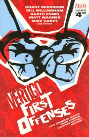 Cover of: Vertigo: First Offenses (DC Comics Vertigo)