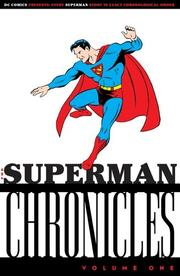 Cover of: Superman Chronicles, Vol. 1