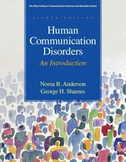 Cover of: Human Communication Disorders An Introduction